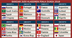 Bandar Judi Klasemen Piala Dunia 2018
