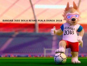 Bandar Judi Bola Resmi Piala Dunia 2018